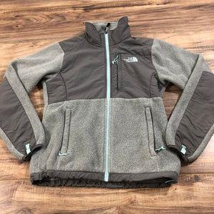 Northface Gray Zip Up XS